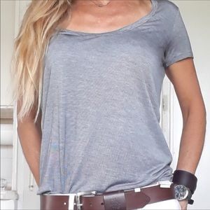 Wilfred Free Gray Heather Tee Shirt